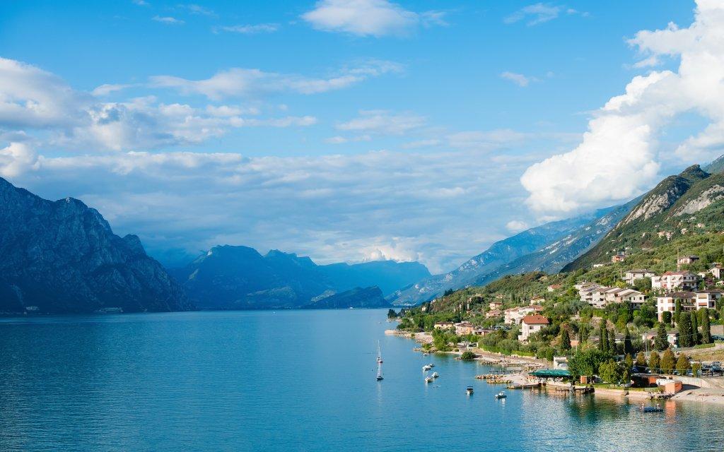 Lago di Garda na 4 dny v Hotelu Eden *** se snídaní, bazénem a soukromou pláží