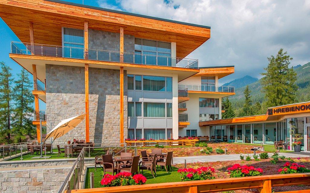 Vysoké Tatry: Hrebienok Resort ve Starém Smokovci u lanovky a s polopenzí