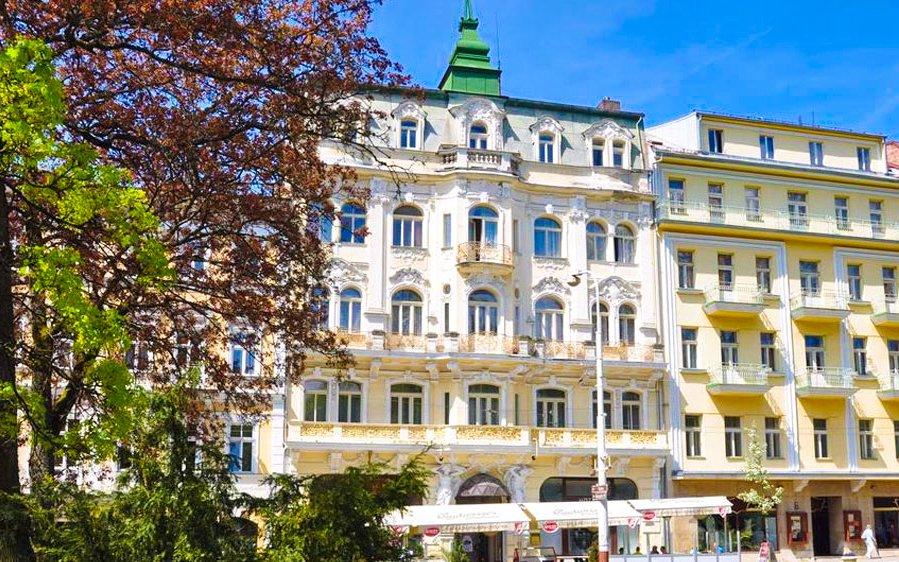 Mariánské Lázně s plnou penzí a wellness procedurami v Hotelu Polonia
