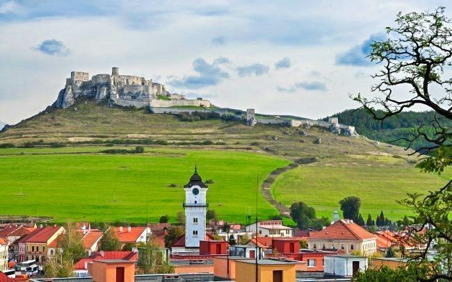 Slovenský ráj v Penzionu Podzámok pod Spišským hradem s bazénem a polopenzí