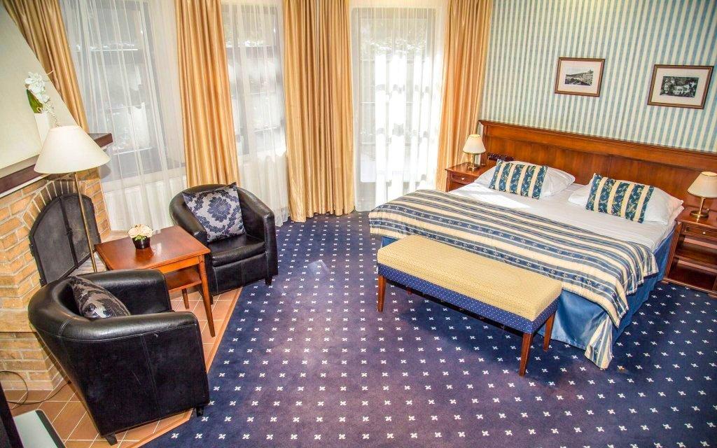 Golf Hotel Morris ****: Mariánské Lázně luxusně s plnou penzí a procedurami