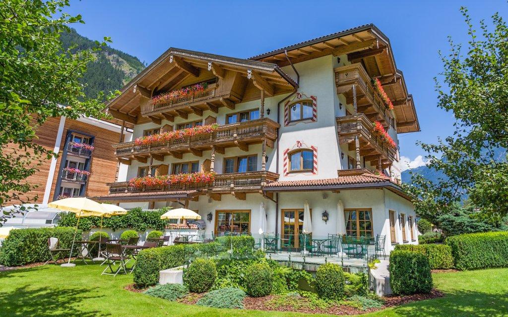 Obrázek Rakouské Alpy v Hotelu Gutshof Zillertal **** s polopenzí a wellness s bazénem není k dispozici