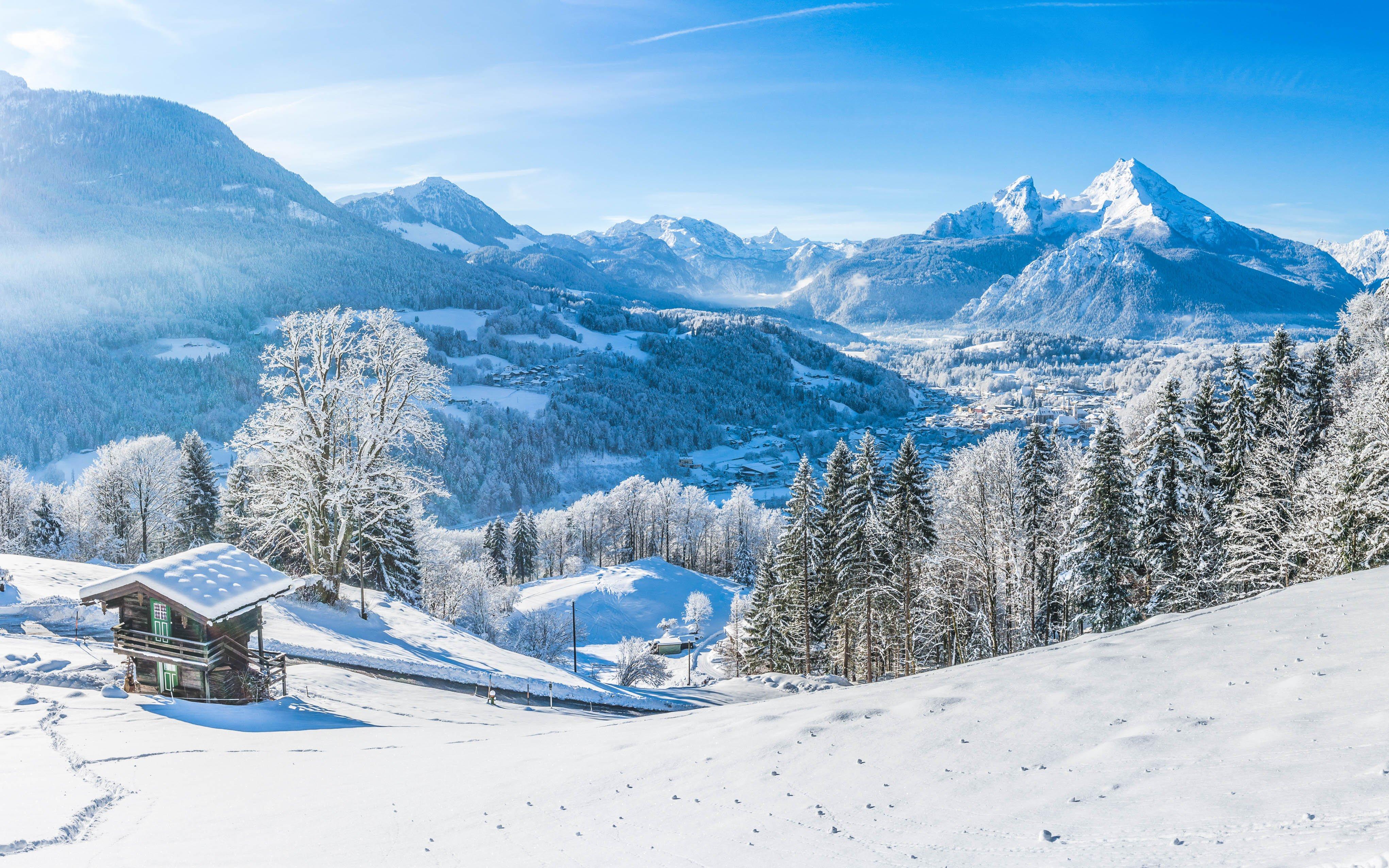 Bavorské Alpy: Zimní dovolená v Alpensporthotelu Seimler *** s neomezeným vstupem do wellness a polopenzí